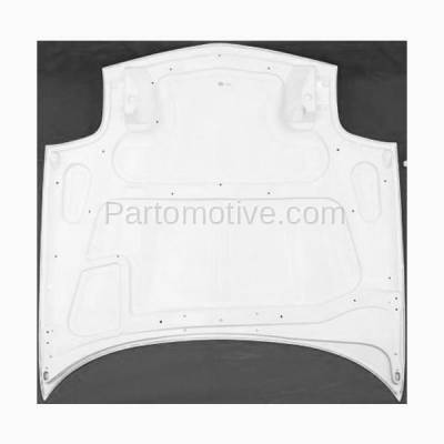 Aftermarket Replacement - HDD-1241 1997-2004 Chevy Corvette (Base, Indianapolis 500 Pace Car, Z06) 5.7L (Convertible, Coupe, Hatchback) Front Hood Panel Primed Fiberglass - Image 3