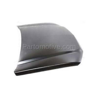 Aftermarket Replacement - HDD-1247 2002-2006 Chevrolet Avalanche 1500 (Crew Cab Pickup 4-Door) Front Hood Panel Assembly Primed SteelModels with Body Cladding - Image 2