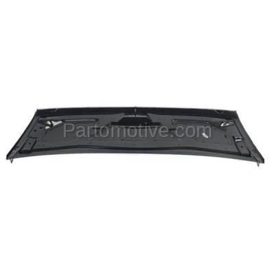 Aftermarket Replacement - HDD-1226 1996-2002 Chevy Express & GMC Astro 1500/2500/3500 Standard & Extended Cargo/Passenger Van Front Hood Panel Assembly Primed Steel - Image 3
