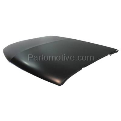 Aftermarket Replacement - HDD-1212 1995-2005 Chevrolet Blazer & 1994-2004 Chevy S10 Pickup Truck (Base, LS, LT, SS, Trailblazer, Xtreme, ZX2) Front Hood Panel Assembly Primed Steel - Image 2
