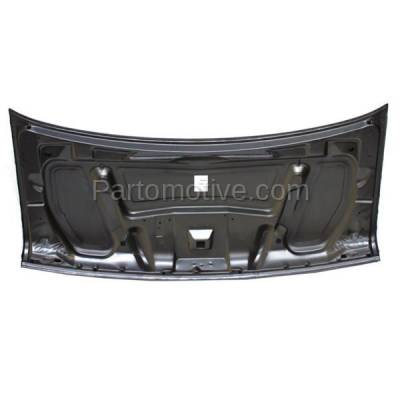 Aftermarket Replacement - HDD-1161 1997-2002 Ford E-Series Econoline Cargo/Passenger Van (E150/E250/E350/E550/E Super Duty & Club Wagon) Front Hood Panel Assembly Primed Steel - Image 3