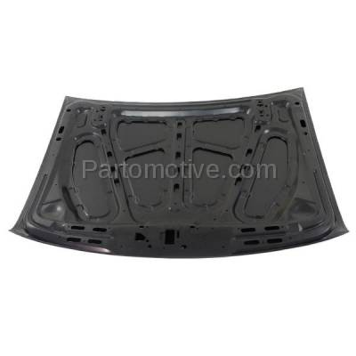 Aftermarket Replacement - HDD-1150 1995-2001 Ford Explorer & 1997-2001 Mercury Mountaineer 4.0L/5.0L (SUV 2 & 4-Door) Front Hood Panel Assembly Primed Steel - Image 3