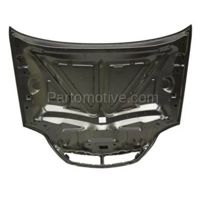 Aftermarket Replacement - HDD-1172 2000-2005 Mercury Sable (GS, LS, LS Premium, Platinum Edition) 3.0L (Sedan & Wagon) Front Hood Panel Assembly Primed Steel - Image 3