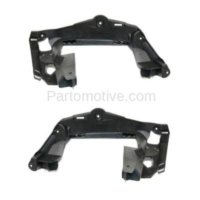 Aftermarket Replacement - BRT-1104RL & BRT-1104RR 2014-2016 CLA45 AMG Rear Bumper Cover Retainer Mounting Brace Reinforcement Support Bracket PAIR SET Passenger & Driver Side - Image 1