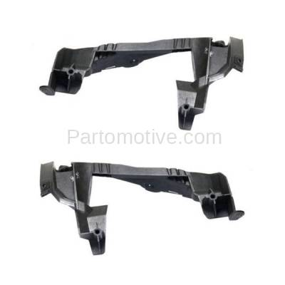 Aftermarket Replacement - BRT-1104RL & BRT-1104RR 2014-2016 CLA45 AMG Rear Bumper Cover Retainer Mounting Brace Reinforcement Support Bracket PAIR SET Passenger & Driver Side - Image 2