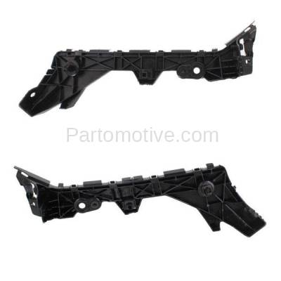 Aftermarket Replacement - BRT-1095RL & BRT-1095RR 10-12 Mazda3 Sedan Rear Bumper Cover Retainer Mounting Brace Reinforcement Support Bracket SET PAIR Right Passenger & Left Driver Side - Image 2