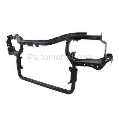 Aftermarket Replacement - RSP-1098 2006-2010 Jeep Commander & 2005-2010 Grand Cherokee Front Center Radiator Support Core Assembly Primed Made of Steel - Image 2