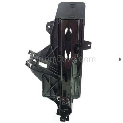 Aftermarket Replacement - RSP-1050L 2011-2016 BMW 5-Series (ActiveHybrid 5/528i/535d/535i/550i/M5 & xDrive) Front Radiator Support Outer Bracket Panel Primed Steel Left Driver Side - Image 1