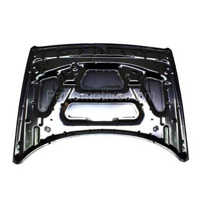 Aftermarket Replacement - HDD-1114 2006-2010 Jeep Commander (65th Anniversary, Base, Limited, Overland, Sport) (USA Built Models) Front Hood Panel Assembly Primed Steel - Image 3