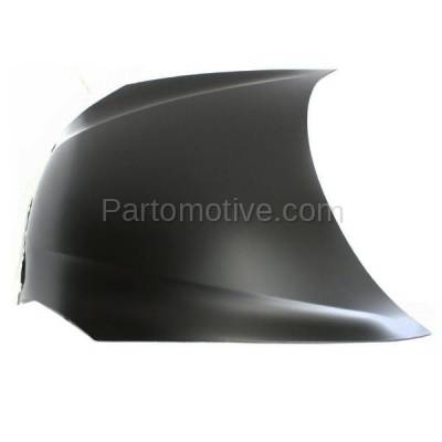 Aftermarket Replacement - HDD-1140 2000-2002 Daewoo Nubira (CDX, SE) Sedan & Wagon 2.0L Front Hood Panel Assembly Primed Steel - Image 2