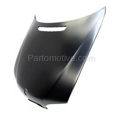 Aftermarket Replacement - HDD-1049 2005-2005 BMW 3-Series 320i/325i/325xi/330i/330xi (Sedan & Wagon 4-Door) Front Hood Panel Assembly Primed Steel - Image 2
