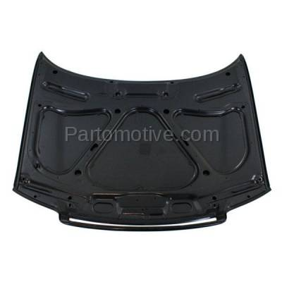 Aftermarket Replacement - HDD-1018 1996-1999 Audi A4 & A4 Quattro (Sedan & Wagon 4-Door) Front Hood Panel Assembly Primed Steel - Image 3