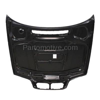 Aftermarket Replacement - HDD-1043 1999-2001 BMW 3-Series 320i/323i/325i/325xi/328i/330i/330xi (Sedan & Wagon 4-Door) E46 Front Hood Panel Assembly Primed Steel - Image 3
