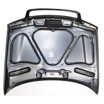 Aftermarket Replacement - HDD-1020 1999-2002 Audi A4/A4 Quattro & 2000-2002 S4 (Sedan & Wagon 4-Door) Front Hood Panel Assembly Primed Steel - Image 3