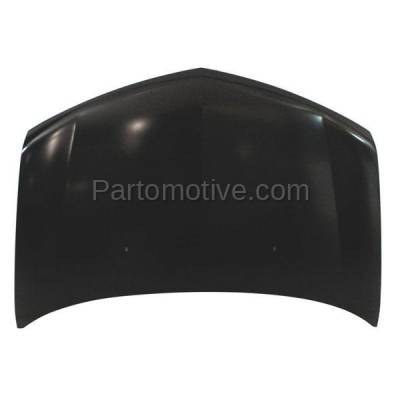 Aftermarket Replacement - HDD-1012 2007-2013 Acura MDX 3.7L Front Hood Panel Assembly Primed Aluminum - Image 2