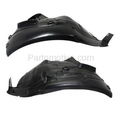 Aftermarket Replacement - IFD-1069L & IFD-1069R 08-13 M3 Front Splash Shield Inner Fender Liner Panel Left & Right Side SET PAIR - Image 1
