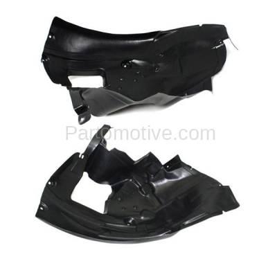Aftermarket Replacement - IFD-1069L & IFD-1069R 08-13 M3 Front Splash Shield Inner Fender Liner Panel Left & Right Side SET PAIR - Image 3