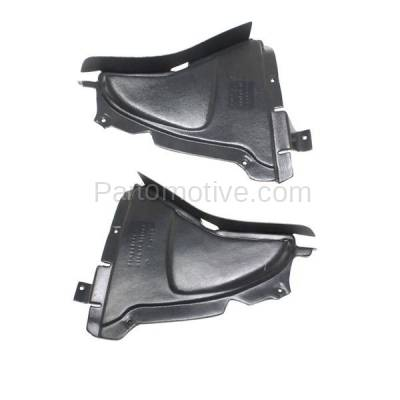 Aftermarket Replacement - IFD-1058L & IFD-1058R 10-17 5-Series Front Splash Shield Inner Fender Liner Panel Left Right SET PAIR - Image 2