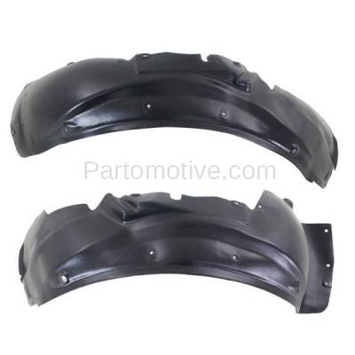 Aftermarket Replacement - IFD-1033L & IFD-1033R 01-05 Allroad Quattro Front Splash Shield Inner Fender Liner Left Right PAIR SET - Image 1