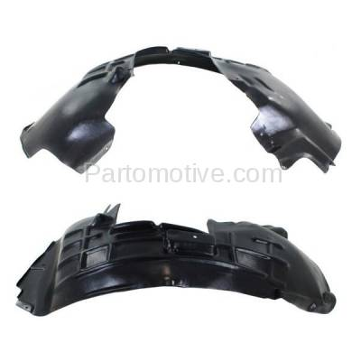 Aftermarket Replacement - IFD-1035L & IFD-1035R 09-12 Q5 Front Splash Shield Inner Fender Liner Panel Left & Right Side SET PAIR - Image 3