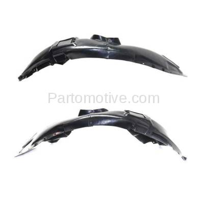 Aftermarket Replacement - IFD-1140L & IFD-1140R 15-17 200 Front Splash Shield Inner Fender Liner Panel Left Right Side SET PAIR - Image 1