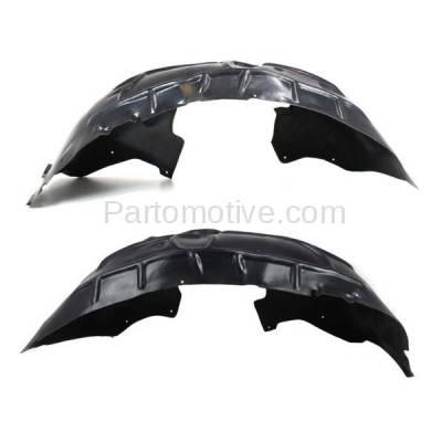 Aftermarket Replacement - IFD-1046L & IFD-1046R 07-14 Q7 Front Splash Shield Inner Fender Liner Panel Left & Right Side SET PAIR - Image 1
