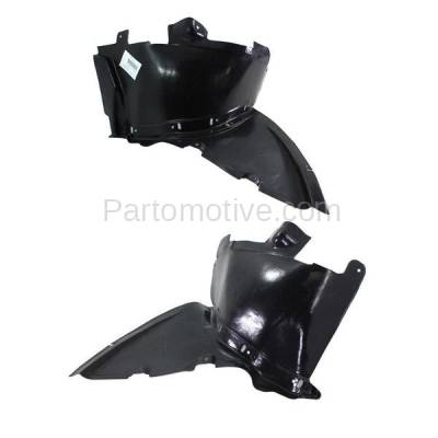 Aftermarket Replacement - IFD-1042L & IFD-1042R 08-15 TT Front Splash Shield Inner Fender Liner Panel Left & Right Side SET PAIR - Image 3