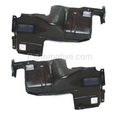 Aftermarket Replacement - ESS-1366L & ESS-1366R Engine Splash Shield Under Cover For 98-01 Sephia & 00-04 Spectra LH+RH SET PAIR - Image 1