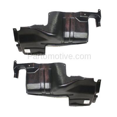 Aftermarket Replacement - ESS-1366L & ESS-1366R Engine Splash Shield Under Cover For 98-01 Sephia & 00-04 Spectra LH+RH SET PAIR - Image 3