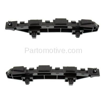 Aftermarket Replacement - BRT-1052FL & BRT-1052FR 2012-12 Civic Hybrid Sedan Front Bumper Cover Face Bar Spacer Retainer Mounting Brace Support Plastic SET PAIR Right Passenger & Left Driver Side - Image 2
