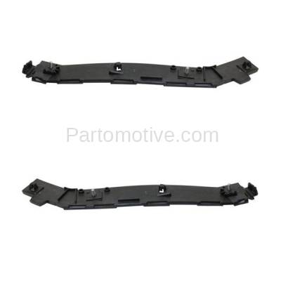 Aftermarket Replacement - BRT-1015RL & BRT-1015RR 8-11 Focus Rear Bumper Cover Retainer Mounting Brace Reinforcement Support Primed Steel SET PAIR Right Passenger & Left Driver Side - Image 2
