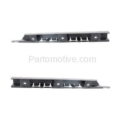 Aftermarket Replacement - BRT-1004RL & BRT-1004RR 04-10 X3 Rear Bumper Retainer Mounting Brace Reinforcement Stiffener Support SET PAIR Right Passenger & Left Driver Side Primed - Image 2