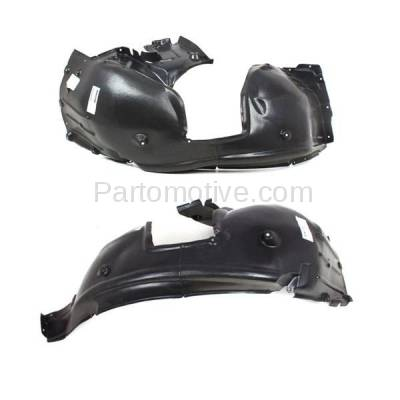 Aftermarket Replacement - IFD-1095L & IFD-1095R 08-10 5-Series Front Splash Shield Inner Fender Liner Panel Left Right SET PAIR - Image 3