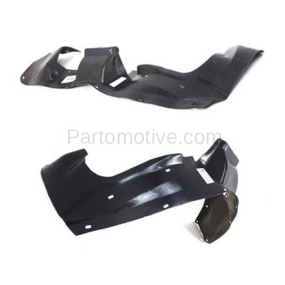 Aftermarket Replacement - IFD-1166L & IFD-1166R 84-95 Caravan & Voyager Front Inner Fender Liner Panel Left Right Side SET PAIR - Image 3