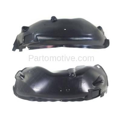 Aftermarket Replacement - IFD-1164L & IFD-1164R 04-06 Durango Front Splash Shield Inner Fender Liner Panel Left & Right SET PAIR - Image 1