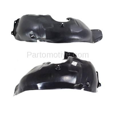 Aftermarket Replacement - IFD-1191L & IFD-1191R 00-02 Nubira Front Splash Shield Inner Fender Liner Panel Left & Right SET PAIR - Image 2