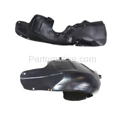 Aftermarket Replacement - IFD-1191L & IFD-1191R 00-02 Nubira Front Splash Shield Inner Fender Liner Panel Left & Right SET PAIR - Image 3
