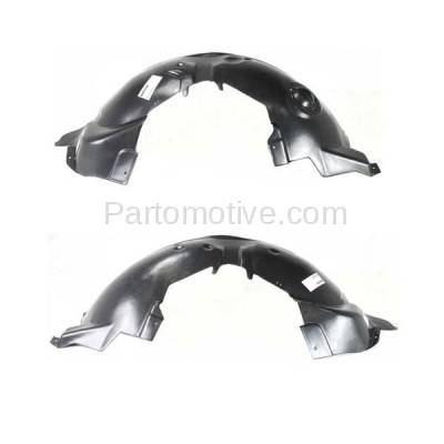 Aftermarket Replacement - IFD-1137L & IFD-1137R 07-11 Nitro Front Splash Shield Inner Fender Liner Panel Left & Right SET PAIR - Image 3