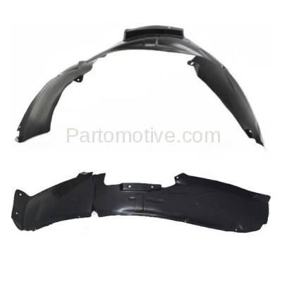 Aftermarket Replacement - IFD-1161L & IFD-1161R 07-12 Caliber Front Splash Shield Inner Fender Liner Panel Left & Right SET PAIR - Image 1