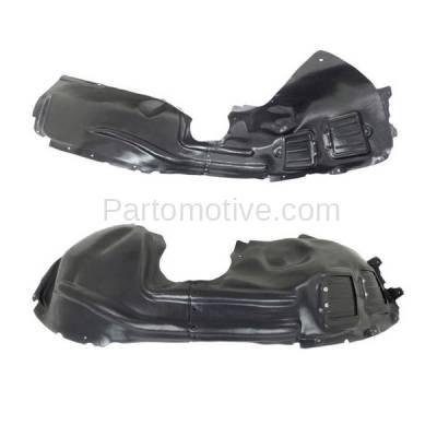 Aftermarket Replacement - IFD-1116L & IFD-1116R 14-16 Cherokee Front Splash Shield Inner Fender Liner Panel Left Right SET PAIR - Image 2