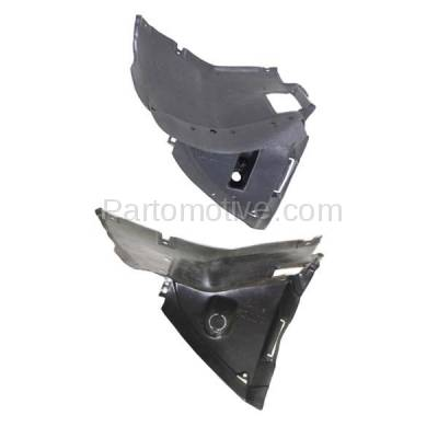 Aftermarket Replacement - IFD-1102L & IFD-1102R 01-06 3-Series Front Splash Shield Inner Fender Liner Panel Left Right SET PAIR - Image 3
