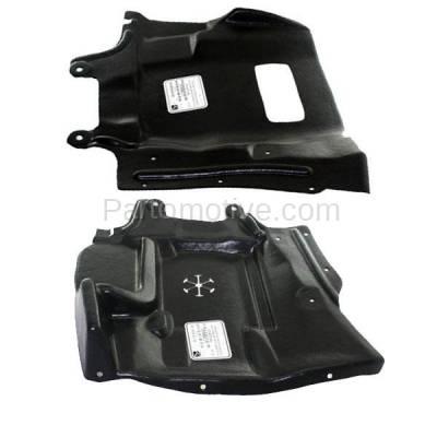Aftermarket Replacement - ESS-1495L & ESS-1495R 03-06 Outlander Front Engine Splash Shield Under Cover Guard Left Right SET PAIR - Image 3