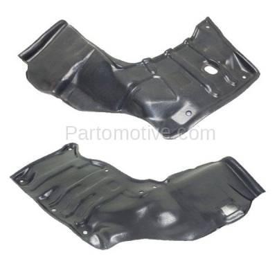 Aftermarket Replacement - ESS-1583L & ESS-1583R 88-92 Corolla Engine Splash Shield Under Cover w/Auto Trans. Left Right SET PAIR - Image 1