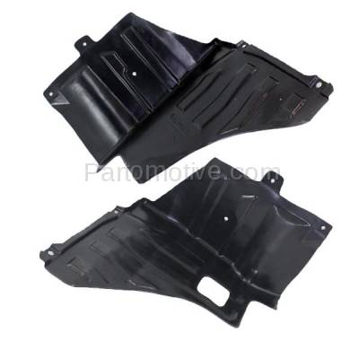 Aftermarket Replacement - ESS-1568L & ESS-1568R 04-08 Forenza & Reno Engine Splash Shield Under Cover Guard Left Right SET PAIR - Image 1