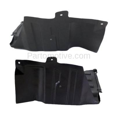 Aftermarket Replacement - ESS-1568L & ESS-1568R 04-08 Forenza & Reno Engine Splash Shield Under Cover Guard Left Right SET PAIR - Image 2