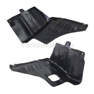 Aftermarket Replacement - ESS-1568L & ESS-1568R 04-08 Forenza & Reno Engine Splash Shield Under Cover Guard Left Right SET PAIR - Image 3