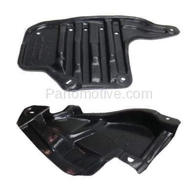 Aftermarket Replacement - ESS-1549L & ESS-1549R 12-15 IQ Rear Engine Splash Shield Under Cover Guard Left & Right Side SET PAIR - Image 2