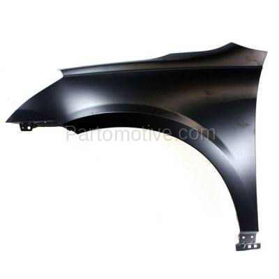 Aftermarket Replacement - FDR-1777L 09-17 Chevy Traverse Front Fender Quarter Panel Driver Side GM1240360 20802980 - Image 1
