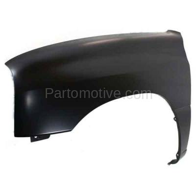 Aftermarket Replacement - FDR-1772L 99-04 Chevy Tracker Front Fender Quarter Panel Driver Side LH SZ1240110 91176547 - Image 2