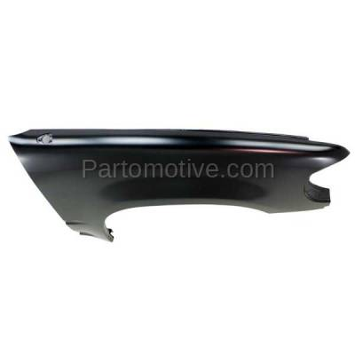 Aftermarket Replacement - FDR-1272R 1995-2001 Ford Explorer & 1997-2001 Mercury Mountaineer Front Fender(without Wheel Opening Molding Holes) Primed Right Passenger Side - Image 2